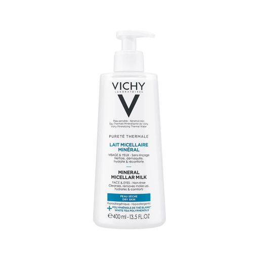 Vichy Purete Thermale Мицеллярное молочко с минералами, молочко, 400 мл, 1шт.