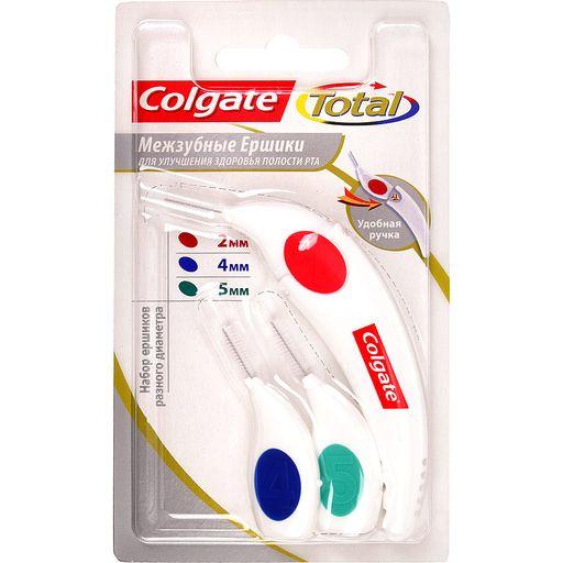 Colgate Total межзубные ершики, набор, 3шт.
