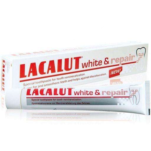 Lacalut White&Repair зубная паста, паста зубная, 50 мл, 1шт.