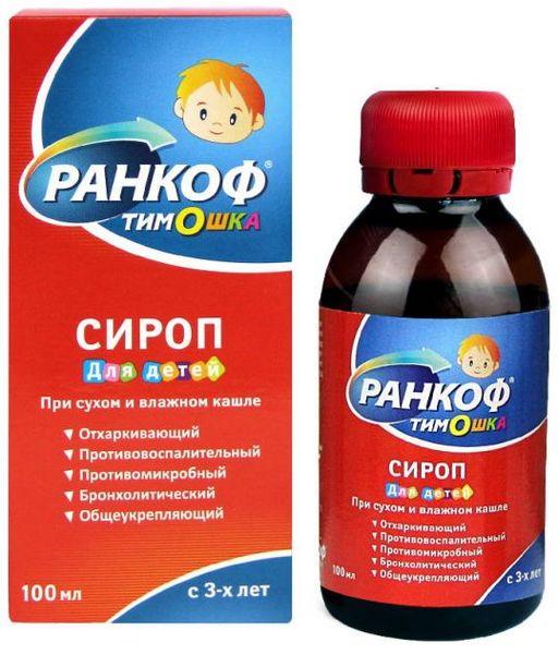 Ранкоф Тимошка, сироп для детей, 100 мл, 1шт.