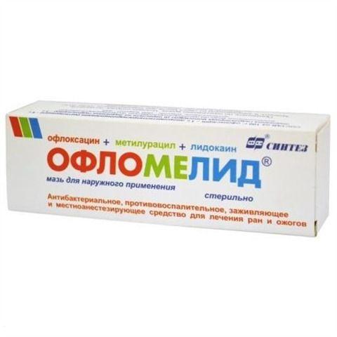 Офломелид, мазь для наружного применения, 100 г, 1шт.