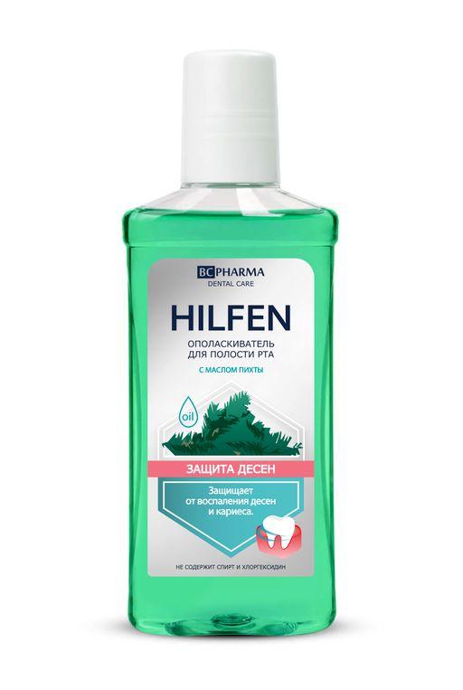 Hilfen Ополаскиватель для полости рта Защита десен, раствор для полоскания полости рта, 250 мл, 1шт.