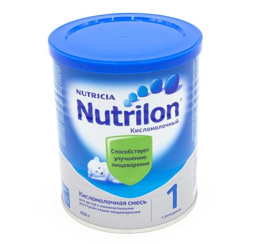 Nutrilon 1 Кисломолочный, смесь сухая, 400 г, 1шт.