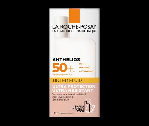 La Roche-Posay Anthelios SPF50+ флюид тонирующий солнцезащитный, крем для лица, 50 мл, 1шт.