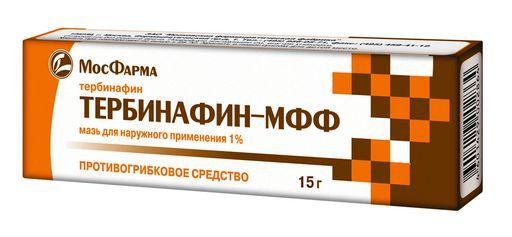 Тербинафин-МФФ, 1%, мазь для наружного применения, 15 г, 1шт.