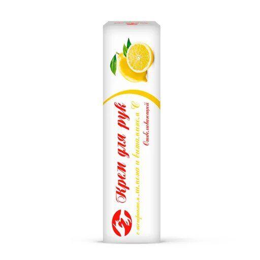 AlenMak Крем для рук с лимоном и витамином С Освежающий, крем для рук, 50 мл, 1шт.