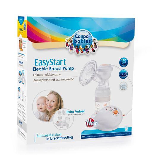 Canpol EasyStart молокоотсос электрический, 1шт.