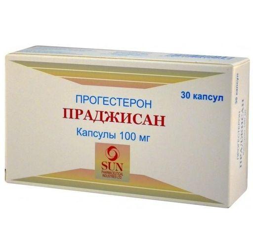 Праджисан, 100 мг, капсулы, 30шт.