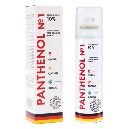 Пантенол спрей N1, 10%, спрей для местного и наружного применения, 150 мл, 1шт.