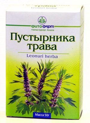 Пустырника трава, сырье растительное измельченное, 50 г, 1шт.