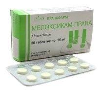 Мелоксикам-Прана, 15 мг, таблетки, 20шт.