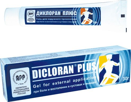 Диклоран плюс, гель для наружного применения, 30 г, 1шт.