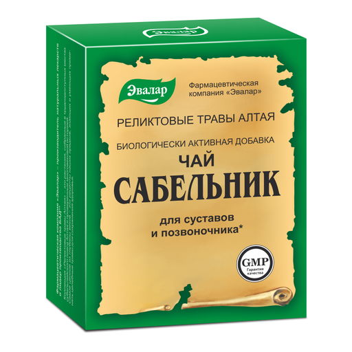 Чай Сабельник, фиточай, 50 г, 1шт.
