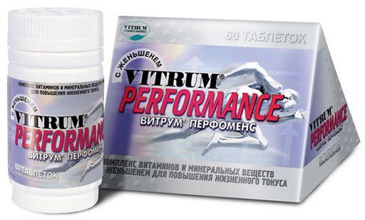 Витрум Перфоменс, таблетки, покрытые пленочной оболочкой, 60шт.