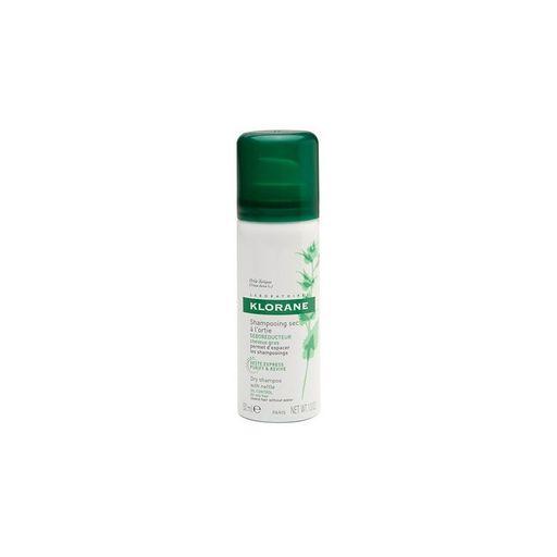 Klorane Сухой шампунь с экстрактом крапивы, аэрозоль, 50 мл, 1шт.