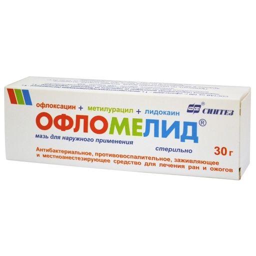 Офломелид, мазь для наружного применения, 30 г, 1шт.