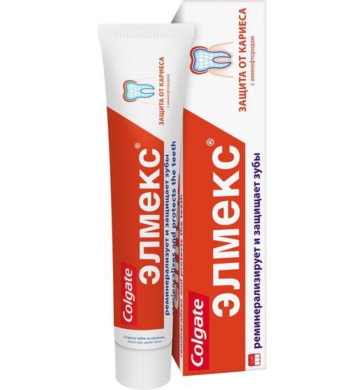 Элмекс Зубная паста от кариеса, паста зубная, 75 мл, 1шт.