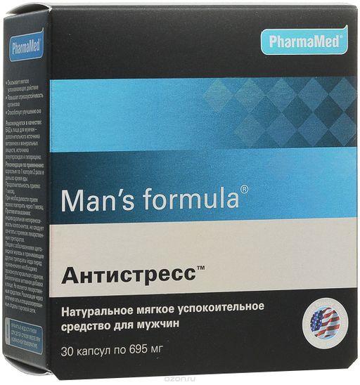 Man's formula Антистресс, 695 мг, капсулы, 30шт.
