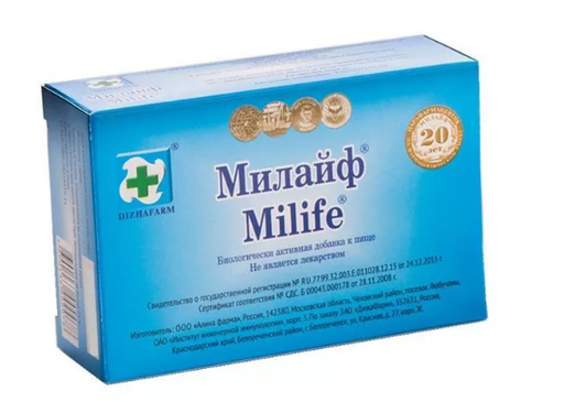 Милайф, таблетки, 30шт.
