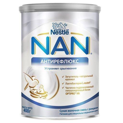 NAN Антирефлюкс, для детей с рождения, смесь молочная сухая, 400 г, 1шт.