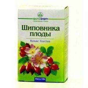 Шиповника плоды, 100 г, лекарственное растительное сырье, 1шт.