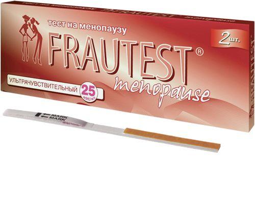 Frautest Menopause тест для определения менопаузы, тест-полоска, 2шт.