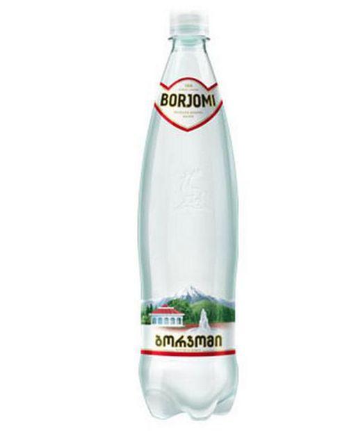 Вода минеральная Боржоми, лечебно-столовая газированная, в пластиковой бутылке, 0.5 л, 1шт.