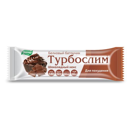 Турбослим батончик для похудения Шоколадный кекс, батончик, 50 г, 1шт.