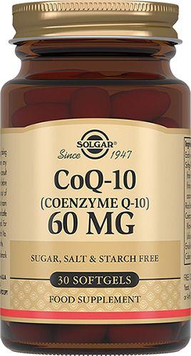 Solgar Коэнзим Q10-60 мг, капсулы, 30шт.