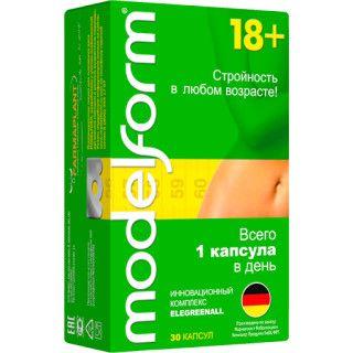 Модельформ 18+, 360 мг, капсулы, 30шт.