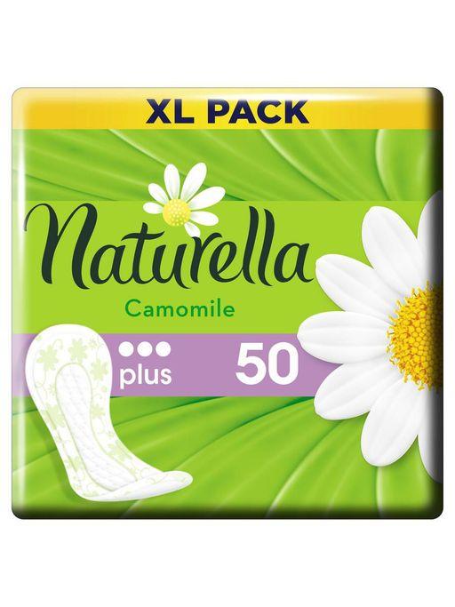 Naturella Camomile Plus прокладки ежедневные, прокладки гигиенические, 50шт.