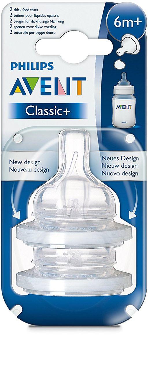 Соски Philips Avent для густых жидкостей, 2шт.