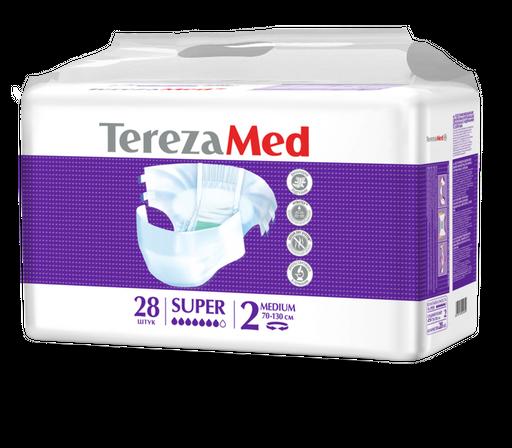 TerezaMed Super подгузники для взрослых ночные, Medium M (2), 70-130 см, 28шт.
