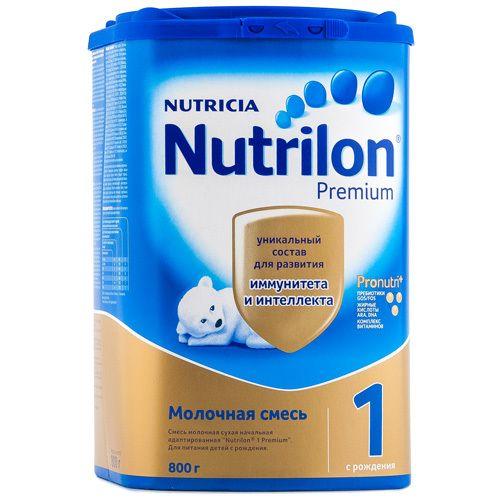 Nutrilon 1 Premium, смесь молочная сухая, 800 г, 1шт.