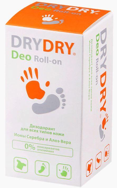 Dry Dry Deo дезодорант для всех типов кожи, део-ролик, 50 мл, 1шт.