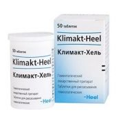Климакт-Хель, таблетки для рассасывания гомеопатические, 50шт.