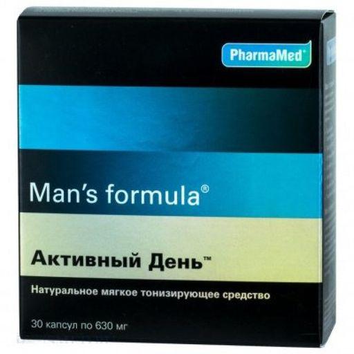 Man's formula Активный день, капсулы, 30шт.