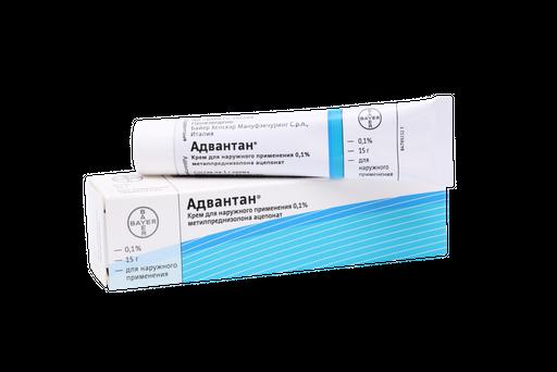 Адвантан, 0.1%, крем для наружного применения, 15 г, 1шт.
