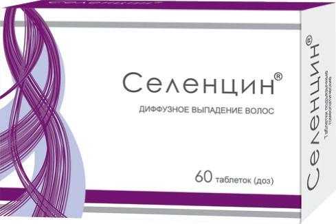 Селенцин, таблетки гомеопатические, 60шт.