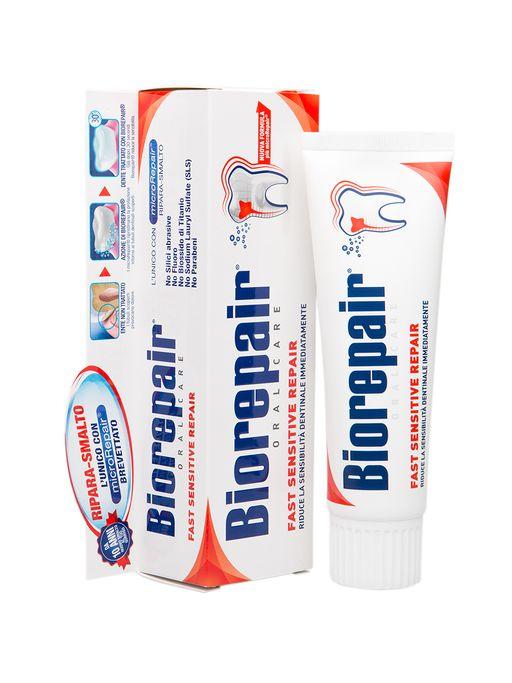 Biorepair Зубная паста для чувствительных зубов, паста зубная, 75 мл, 1шт.