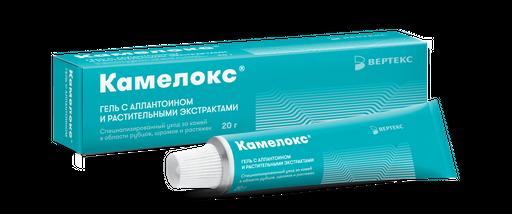 Камелокс гель с растительными экстрактами и аллантоином, гель для наружного применения, 20 г, 1шт.
