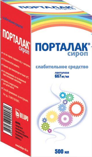 Порталак, 66.7%, сироп, 500 мл, 1шт.