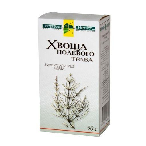 Хвоща полевого трава, сырье растительное измельченное, 50 г, 1шт.