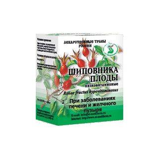 Шиповника плоды низковитаминные, сырье растительное цельное, 70 г, 1шт.