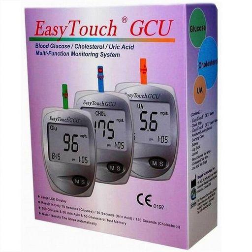 EasyTouch GCU анализатор крови Глюкоза Холестерин Мочевая кислота, 1шт.