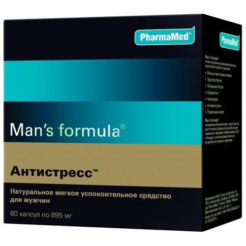 Man's formula Антистресс, 695 мг, капсулы, 60шт.