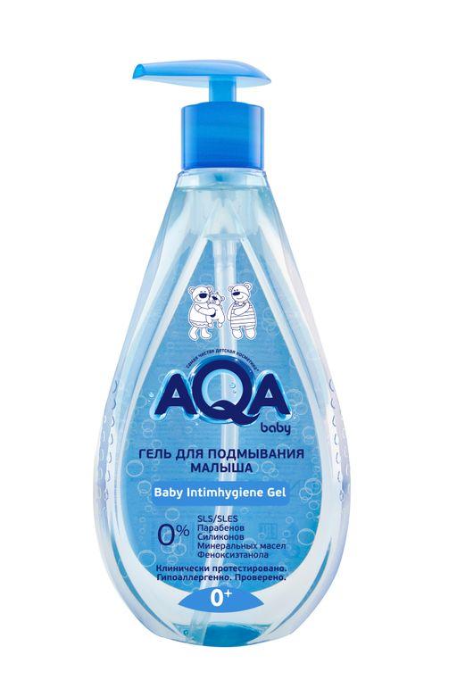 AQA baby гель для подмывания малыша, 400 мл, 1шт.