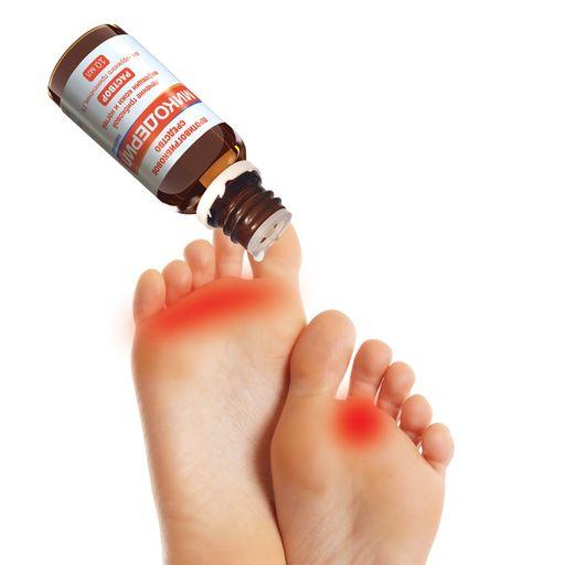 Микодерил, 1%, раствор для наружного применения, от грибка ногтей, 10 мл, 1шт.