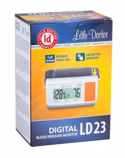 Тонометр автоматический  Little Doctor LD23, с большой манжетой, 1шт.