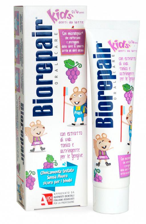 Biorepair kids Grape паста зубная детская, паста зубная, виноград, 50 мл, 1шт.